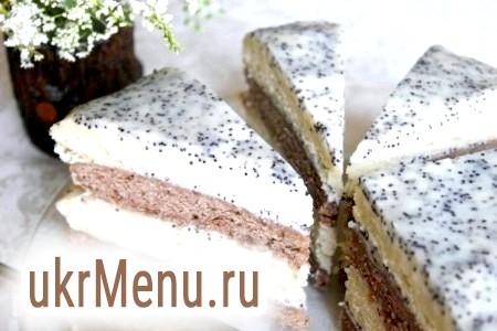 Сметанний торт зі сметанним кремом