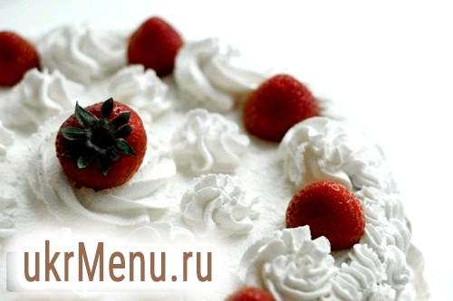 Крем з вершків для прикраси торта: рецепт з фото