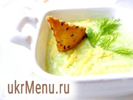 Крем-суп з брокколі з вершками