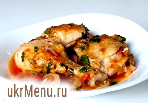 Курка, приготовлена   як фазан
