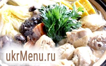 Курка з грибами в мультиварці, рецепт з фото