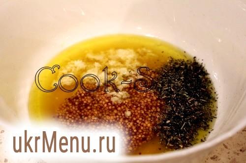 Фото - медово гірчичний соус