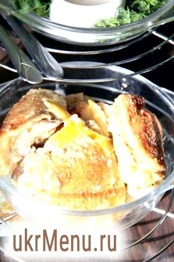 Курка в молочному соусі