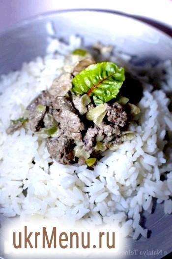 Куряча печінка по-індонезійськи