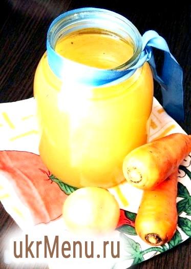 Курячий бульйон з овочами