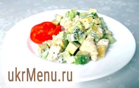 Курячий салат з авокадо