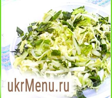 Літній салат до шашлику