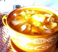 Фото - Крок №4 - Подавати суп зі сметаной.Пріятного апетиту!