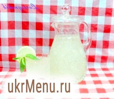 Лимонад імбирний з м'ятою