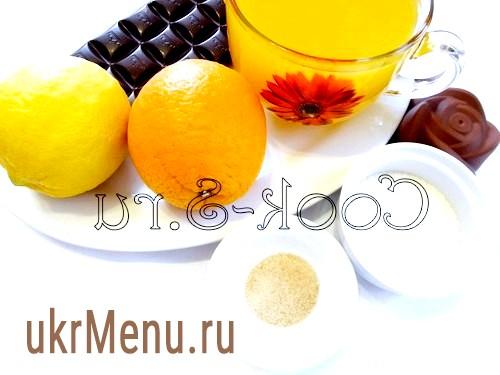 Лимонно-апельсиновий сорбет