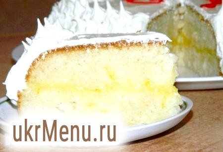 Лимонний торт