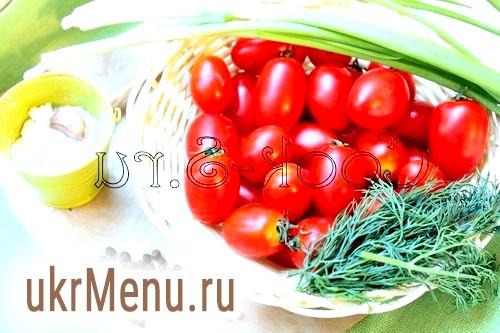 Мариновані помідори черрі на зиму