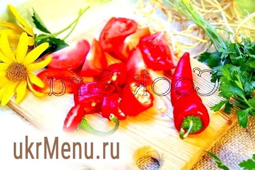Фото - помідори з перцем