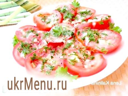 Мариновані помідори за 30 хвилин