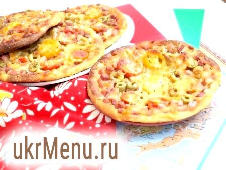 Міні-піца з сирного тесту