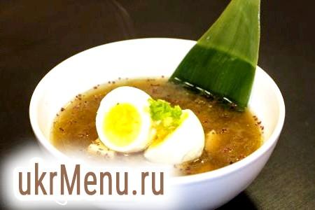 Місо суп на курячому бульйоні