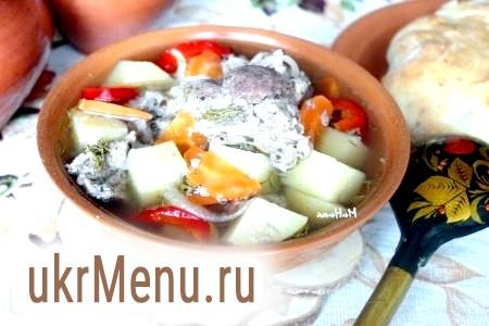 Фото - М'ясо в горщиках в духовці