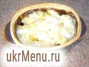 Фото - Готова картопля з сиром