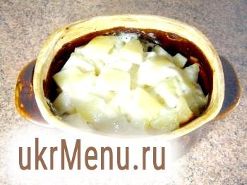 Фото - Запечена картопля з м'ясом