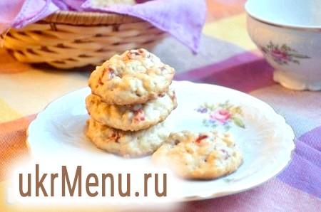 М'ятна вівсяне печиво з вишнею