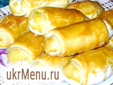 Молдавські пиріжки з капустою і рисом