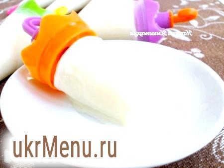 Молочне домашнє морозиво