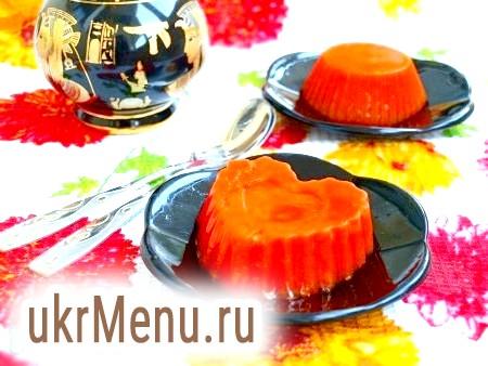 Морквяне желе
