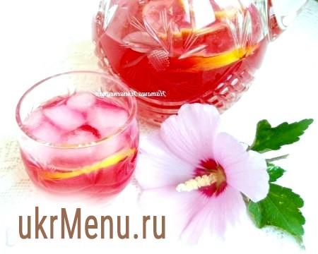 Напій з базиліка і лимона