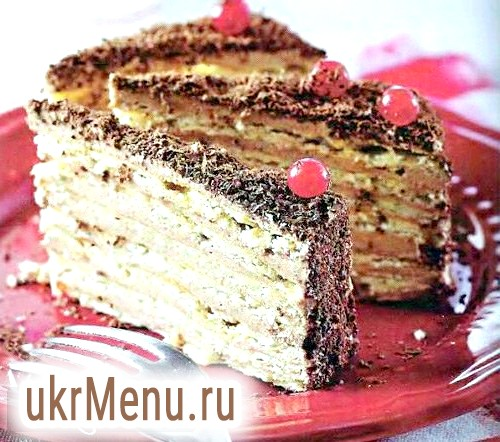 Справжній торт мікадо: рецепт з фото