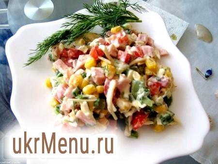 Кілька способів приготувати салат з шинкою