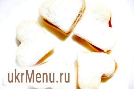 Ніжне печиво з варенням