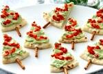 Новорічні ялинки з лавашем-закуска на новий рік