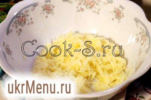 Оладки з картоплі і кабачків