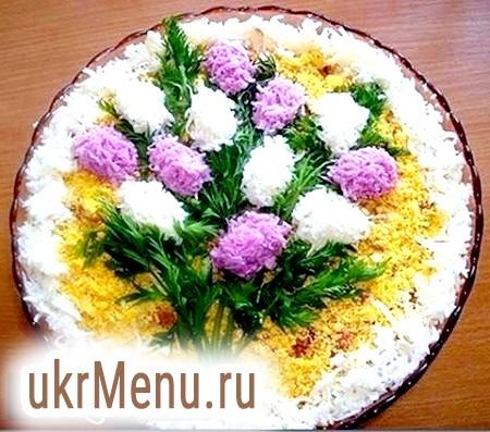 Оригінальні та смачні салати на 8 березня