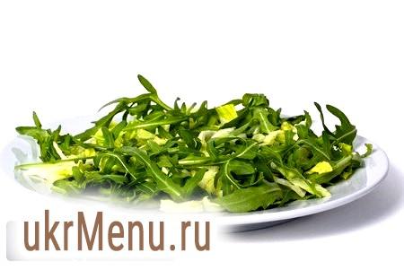 Оригінальний салат з руколою для святкового столу