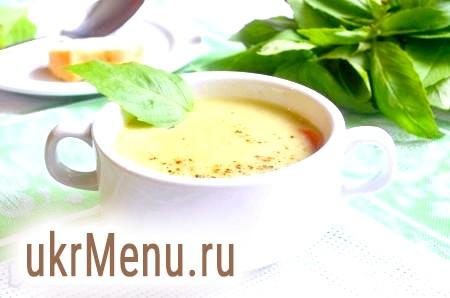 Овочевий крем-суп