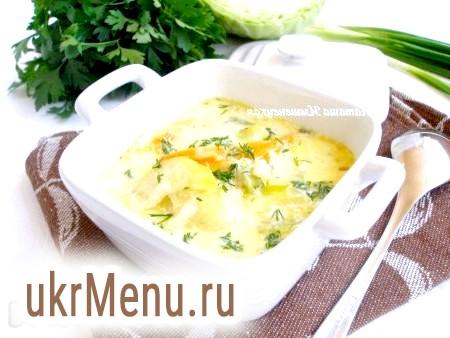 Овочевий суп без м'яса (на молоці)