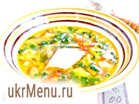 Овочевий суп з рибою
