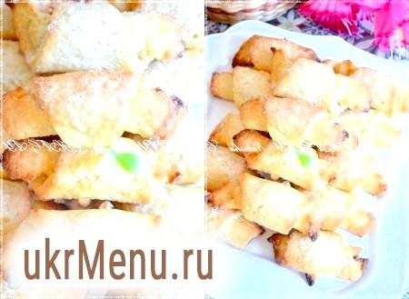 Печиво з сирного тесту