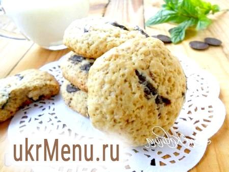 Печиво з шматочками шоколаду