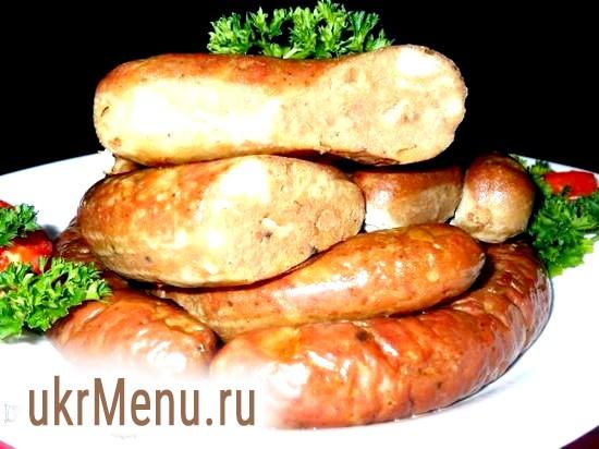 Печінкова ковбаса