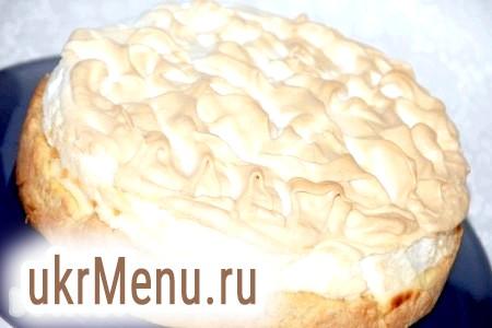 Пісочний пиріг з сирною начинкою