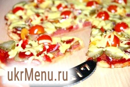 Піца з бездріжджового тіста