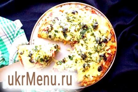 Піца на бездріжджового тіста
