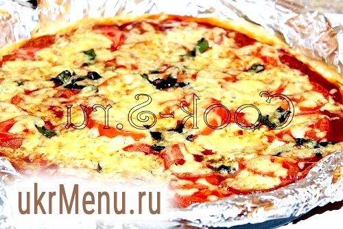 Фото - піца на кефірі
