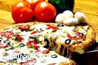 Піца з грибами
