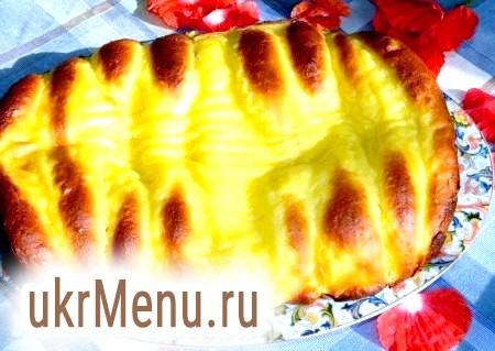 Фото - Готовий пиріг з булочок із заварним тестом охолоджуємо і подаємо до столу.