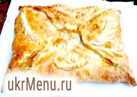 Пиріг з листкового тіста з різними начинками