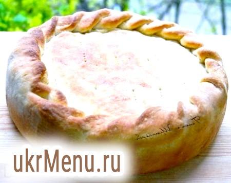 Пиріг з беконом і картоплею