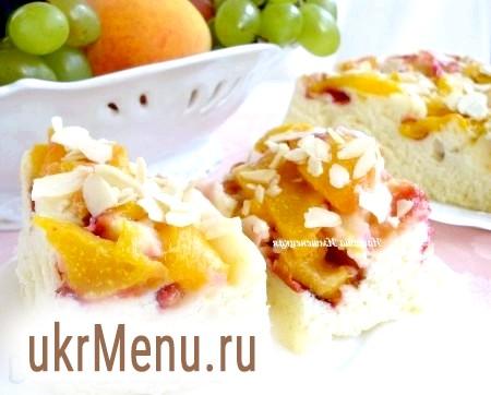 Пиріг з фруктами в мікрохвильовці
